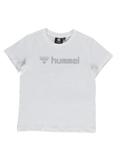 Hummel Çocuk Tişört Kandeke 911155-9973 Beyaz